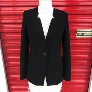 Trouvé Single Button Black Blazer Size Small